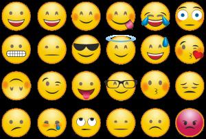 Emoji-Sammlung. Quelle: pixabay